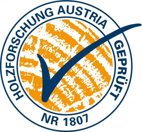Holzforschung Austria geprüft Nr 1807