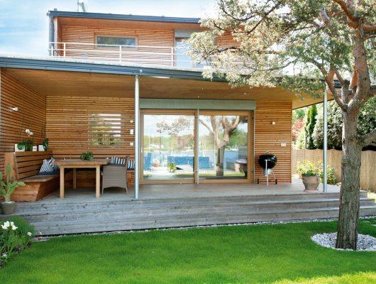Hausbau / Naturmaßhaus™, Fassaden, Wintergärten, Terrassen, Veranden